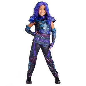 Disney Deacendants Mal costume and wig